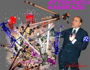 attentato a Berlusconi