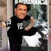BERLUSCONI<br><em>black bloc piduista</em>