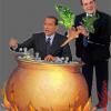 <i>duello Berlusconi Prodi</i><br>IL CAVALIERE È COTTO